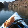 A kayak on the Colorado River