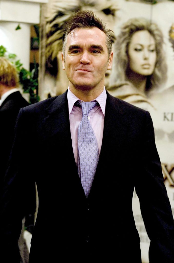 Morrissey at the premiere of the Alexander film