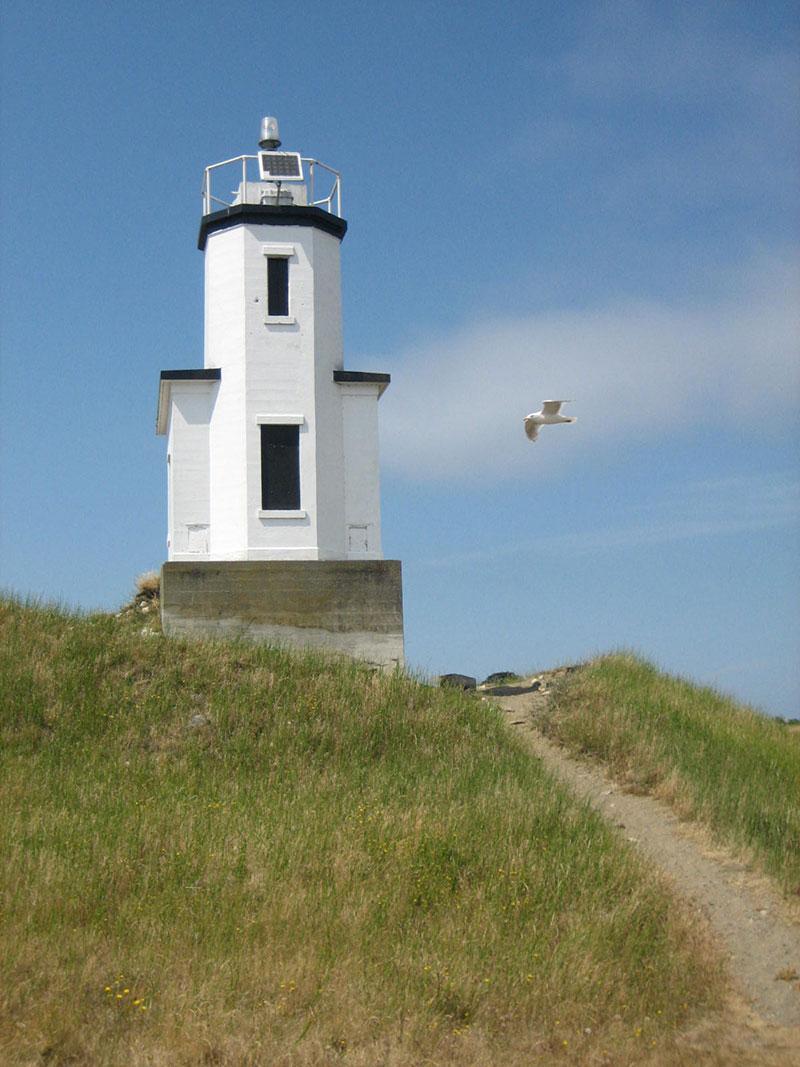 Lighthouse on the San Juan Islands