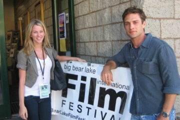 Kim Shaw and David Fumero of the film Greetings From the Shore