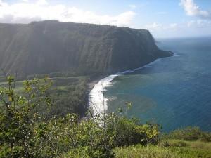 Waipio Valley Big Island Hawaii coast