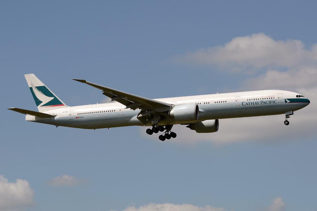 B-KQC Boeing 777-367 ER Cathay Pacific Airways