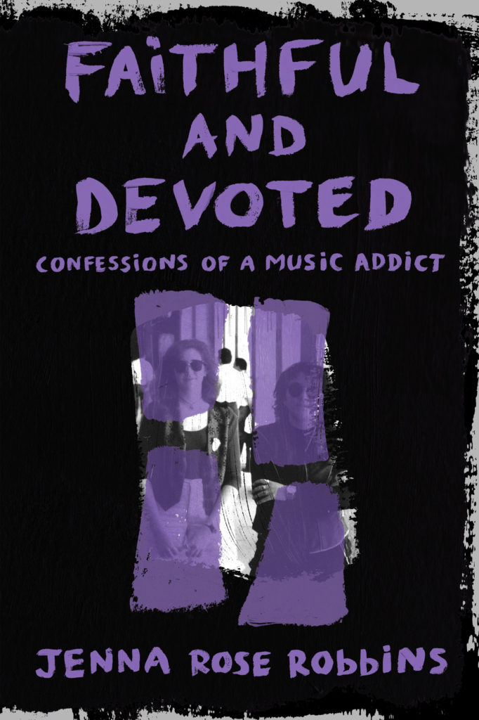 Faithful and Devoted cover, book about Depeche Mode groupies