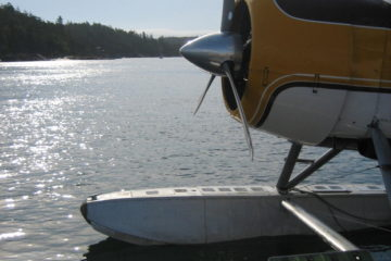 Friday Harbor sea plane