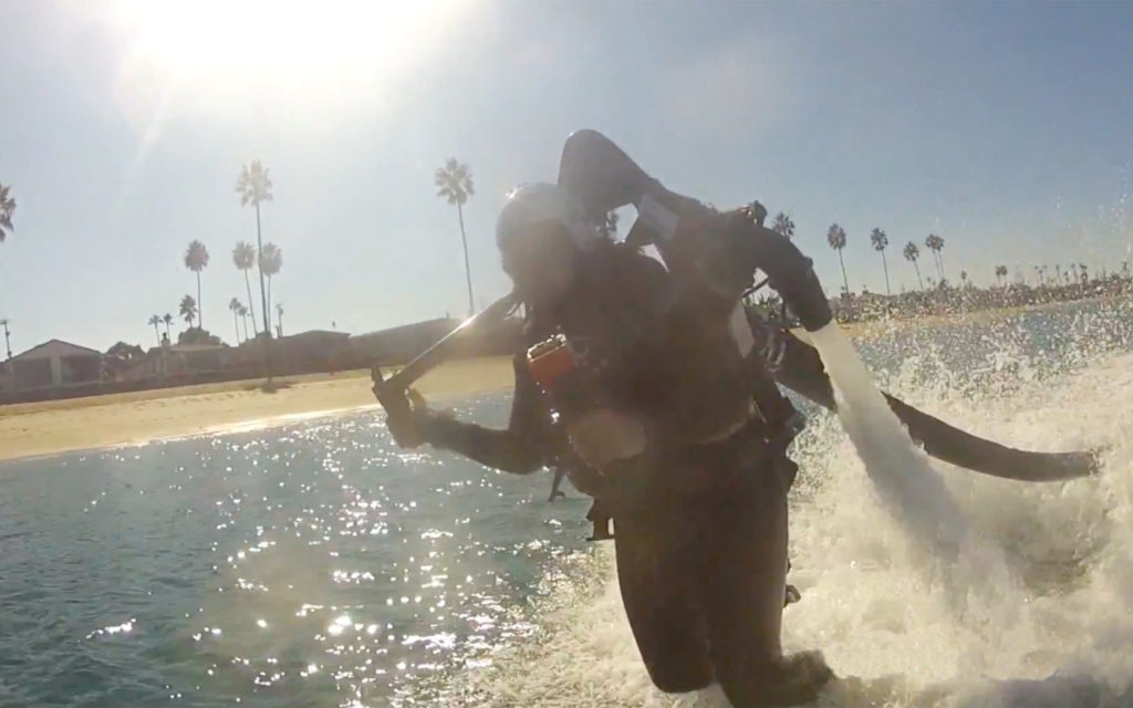 Jetpacking, Jetlev, Orange County, California