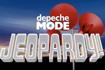 Logo for Depeche Mode Jeopardy (in the Depeche Mode Global Fan Group)